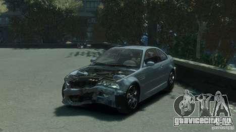 BMW M3 E46 для GTA 4 вид сбоку