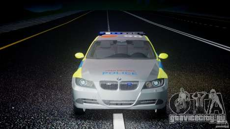 BMW 350i Indonesian Police Car [ELS] для GTA 4 салон