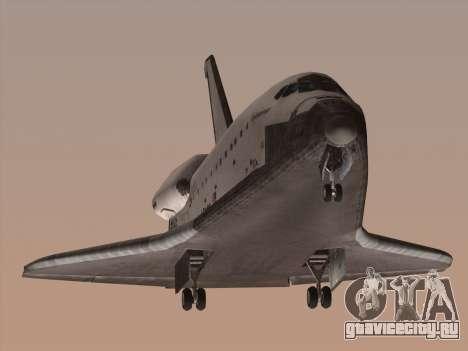 Space Shuttle для GTA San Andreas