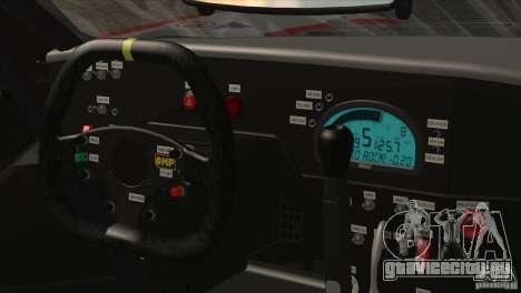 Ford GT Matech GT3 Series для GTA San Andreas вид снизу