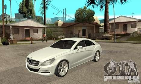 Mercedes-Benz CLS 350 2011 для GTA San Andreas