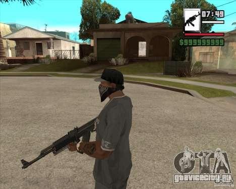 AK47 with GP-30 для GTA San Andreas второй скриншот