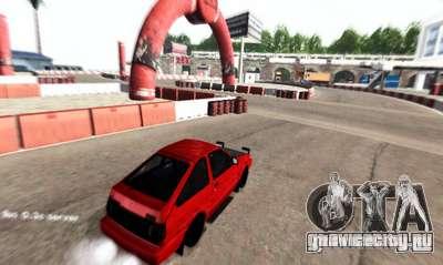 NFS:Shift Drift Tracks для GTA San Andreas