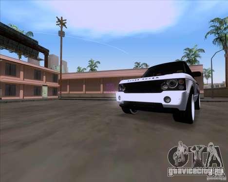 Range Rover Hamann Edition для GTA San Andreas вид слева