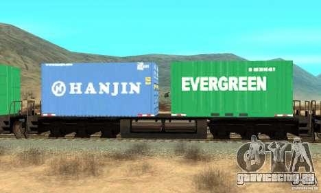 Lokomotive для GTA San Andreas вид сзади слева