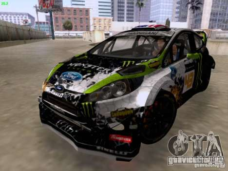Ken Block Ford Fiesta 2012 для GTA San Andreas