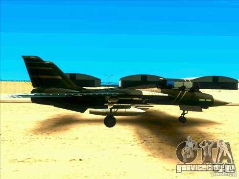 F-14 Tomcat Schnee для GTA San Andreas вид сзади