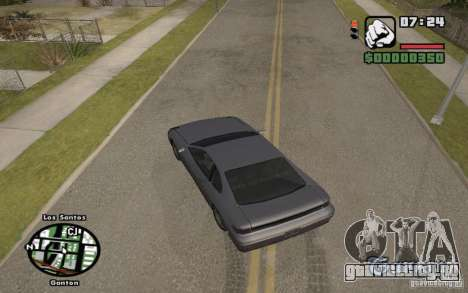 Название улиц над радаром для GTA San Andreas третий скриншот
