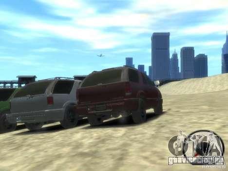 Chevrolet Blazer LS 2dr 4x4 для GTA 4 вид сзади