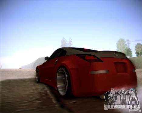 Nissan 350Z AdHoc для GTA San Andreas вид справа