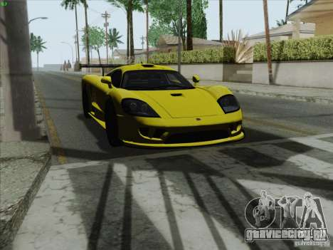Saleen S7 Twin Turbo Competition Custom для GTA San Andreas вид справа