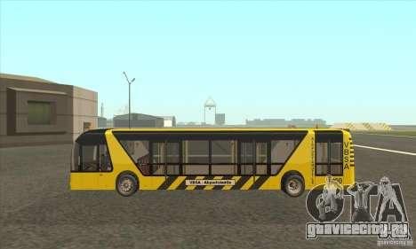 Автобус В Аэропорт для GTA San Andreas вид слева