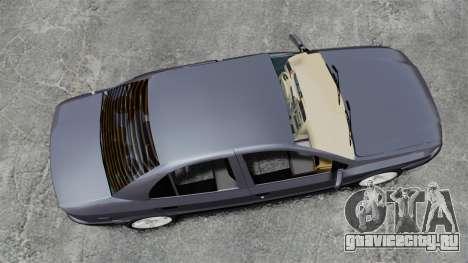 Iran Khodro Samand LX для GTA 4 вид справа