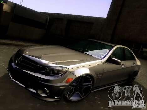 Mercedes-Benz C36 AMG для GTA San Andreas салон