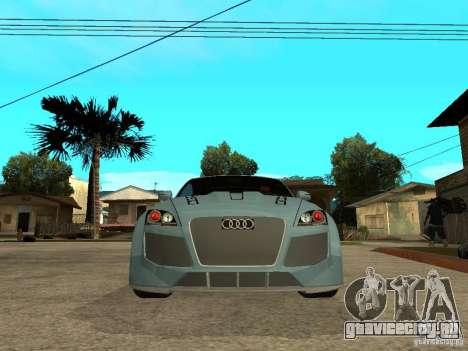 Audi TT 2007 Tuned для GTA San Andreas вид справа