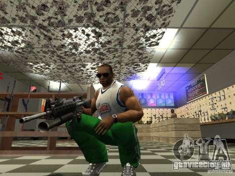 M16 с подствольным гранатомётом M203 для GTA San Andreas четвёртый скриншот
