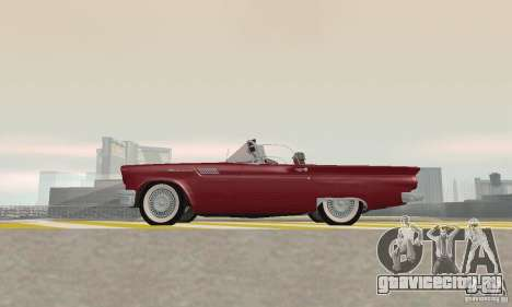 Ford Thunderbird 1957 для GTA San Andreas вид сзади