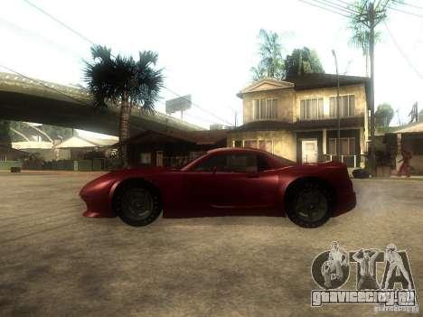 Axis Pegasus для GTA San Andreas вид слева