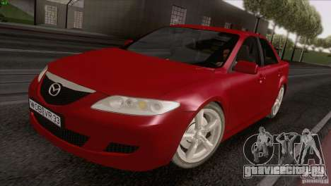 Mazda 6 2006 для GTA San Andreas вид справа