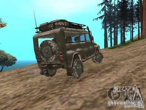 УАЗ-31519 из COD MW2 для GTA San Andreas вид слева