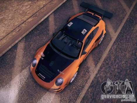 Porsche 997 GT3 RSR для GTA San Andreas вид сбоку