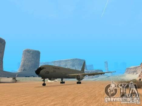 Boeing KC767 U.S Air Force для GTA San Andreas