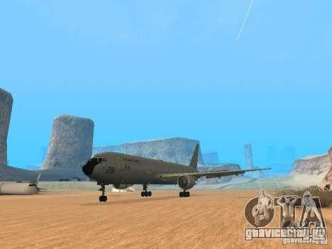 Boeing KC767 U.S Air Force для GTA San Andreas