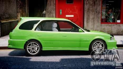 Toyota Sprinter Carib BZ-Touring 1999 [Beta] для GTA 4 вид снизу