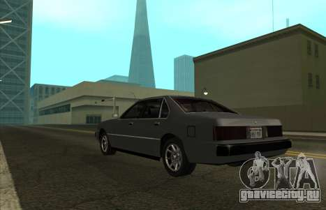 New Sentinel для GTA San Andreas вид слева