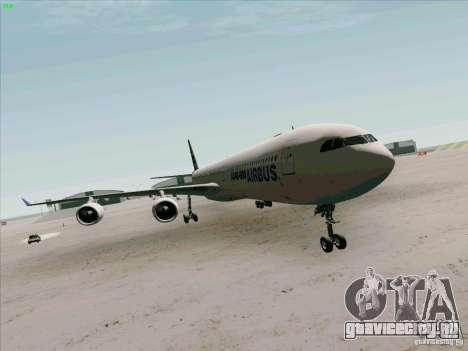 Airbus A-340-600 для GTA San Andreas