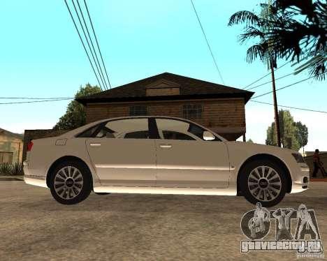 Audi A8 2003 для GTA San Andreas вид справа