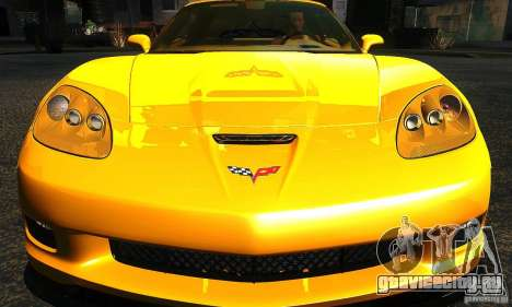 Chevrolet Corvette Grand Sport 2010 для GTA San Andreas вид сбоку