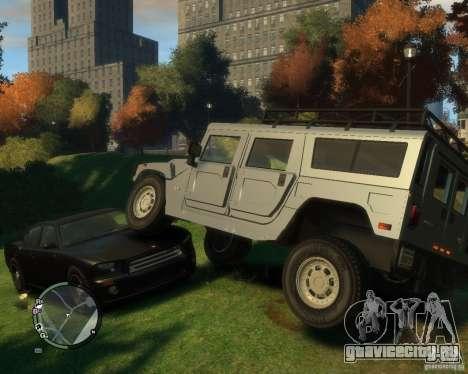 Hummer H1 для GTA 4 вид слева