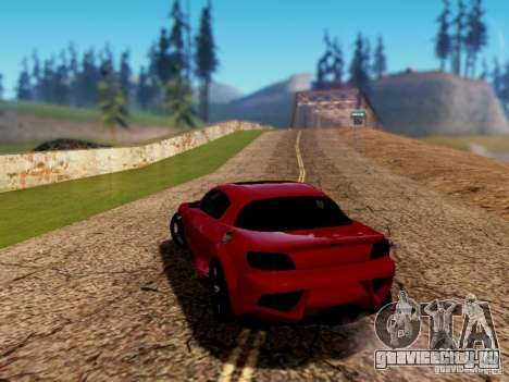 Mazda RX8 Reventon для GTA San Andreas вид слева