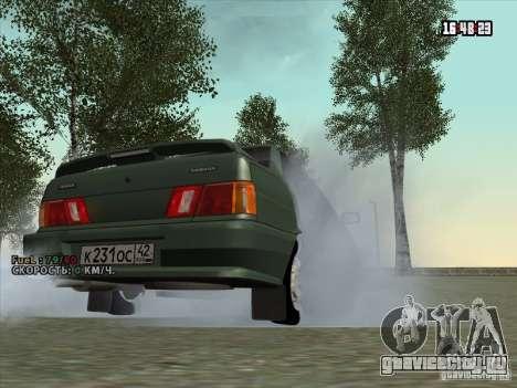 ВАЗ 2115 Сток для GTA San Andreas вид справа