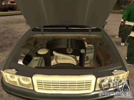 HD Sentinel для GTA San Andreas вид справа