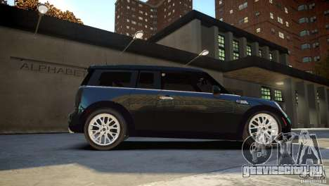 Mini Cooper Clubman для GTA 4 вид справа