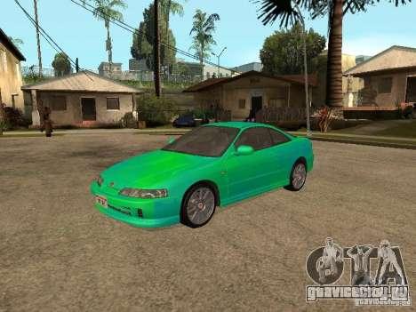 Honda Integra 2000 для GTA San Andreas вид сбоку