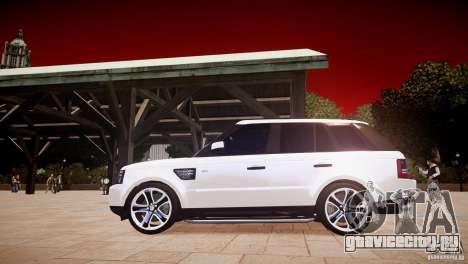 Range Rover Sport Supercharged v1.0 2010 для GTA 4 вид слева