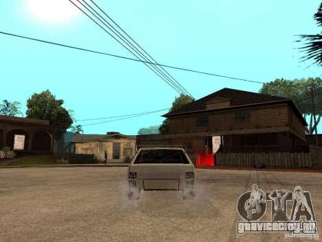 VAZ 2108 Devil V.2 для GTA San Andreas вид сзади слева