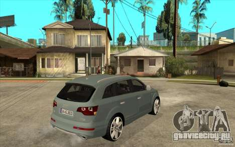 Audi Q7 V12 TDI 2011 для GTA San Andreas вид справа