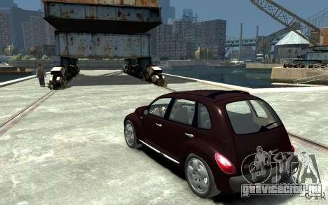 Chrysler PT Cruiser для GTA 4 вид сзади слева
