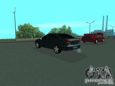 Renault Megane I для GTA San Andreas вид сзади