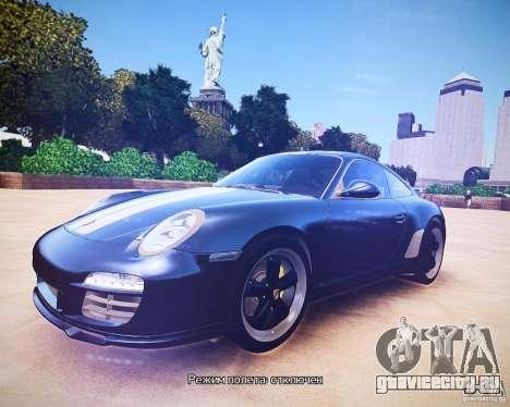Porsche 911 Sport Classic 2011 v2.0 для GTA 4 вид слева