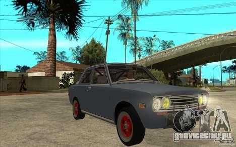 Datsun 510 JDM Style для GTA San Andreas вид сзади