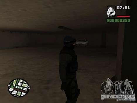 Umbrella soldier для GTA San Andreas третий скриншот