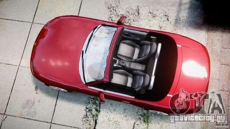 Mazda MX-5 Miata для GTA 4 вид справа