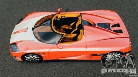 Koenigsegg CCX 2006 v1.0 [EPM][RIV] для GTA 4 вид справа