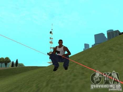 Laser Weapon Pack для GTA San Andreas третий скриншот