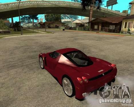Ferrari ENZO 2003 v.2 final для GTA San Andreas вид слева